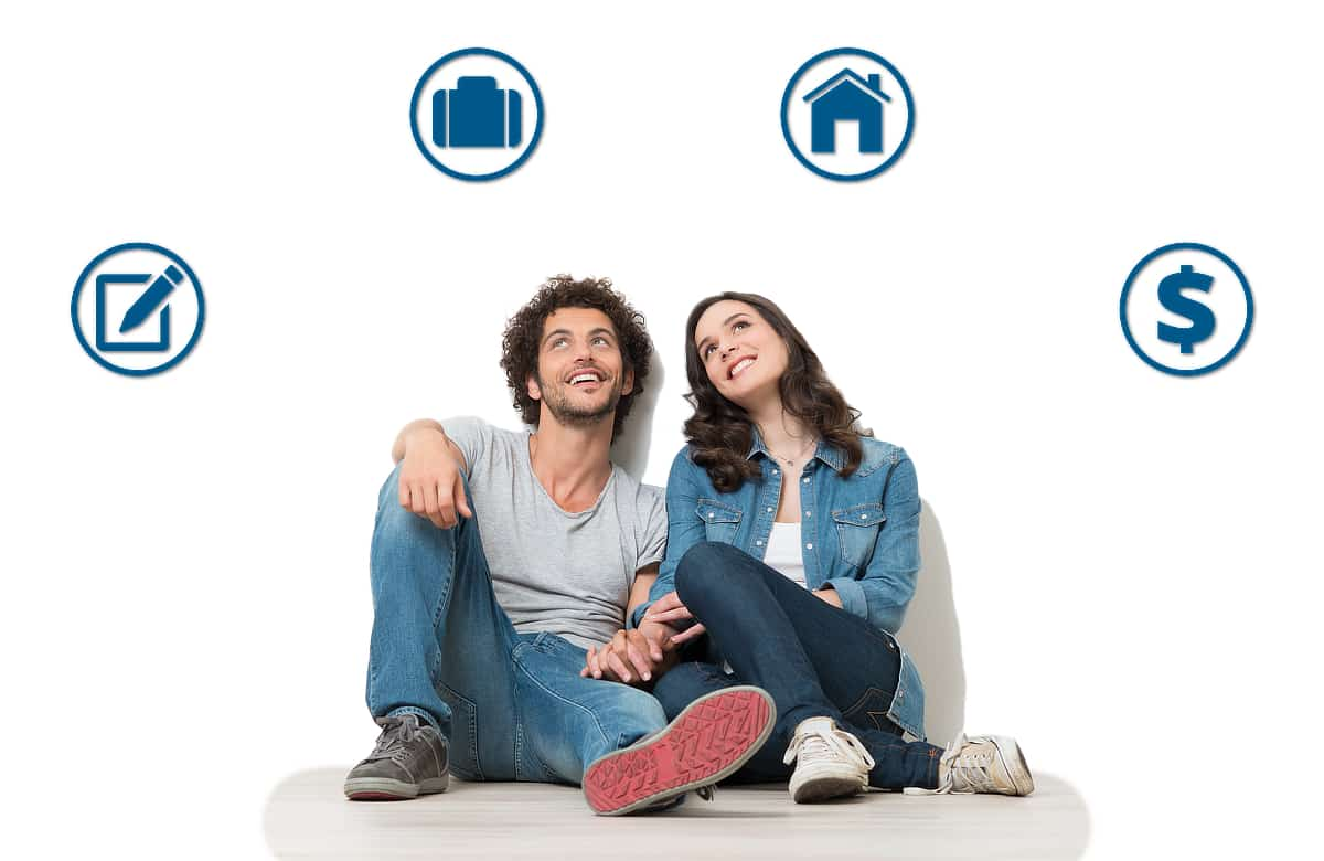 Couple Looking Up And Thinking About Preparedness Made Easy