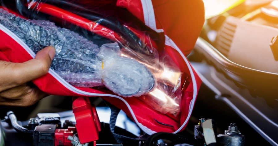 Auto Emergency Kit Bag