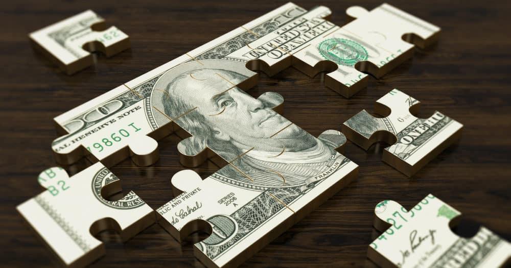 Building Emergency Fund Dollar Puzzle