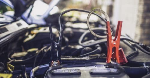 Emergency Car Kit Jump Starting Car Battery