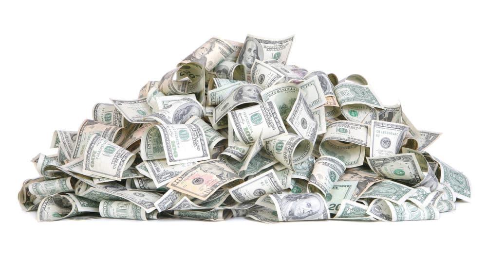 Emergency Money Pile