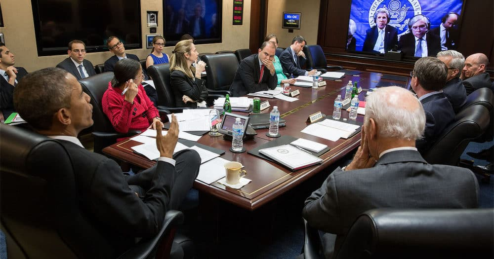 President Cabinet White House Situation Room Communications