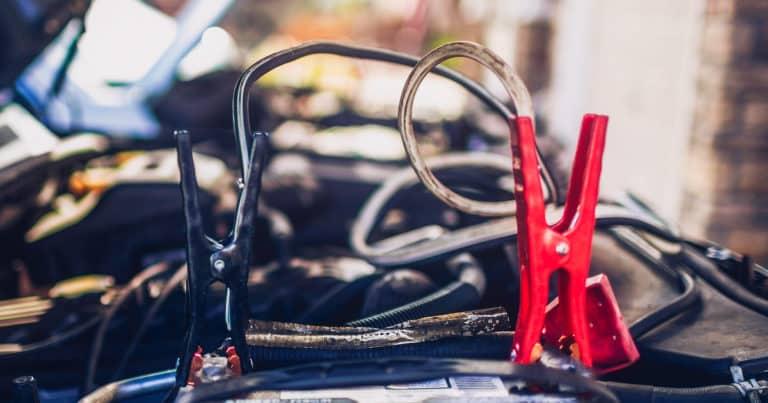Emergency Supplies For A Car Jump Starting A Car Battery